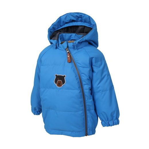 Color Kids Winterjacke mit süßem Bären-Motiv