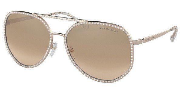 MICHAEL KORS Damen Sonnenbrille »MIAMI MK1039B«