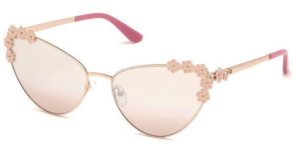 Guess Damen Sonnenbrille »GU7588«, Cat eyeförmige Vollrandsonnenbrille online kaufen | OTTO