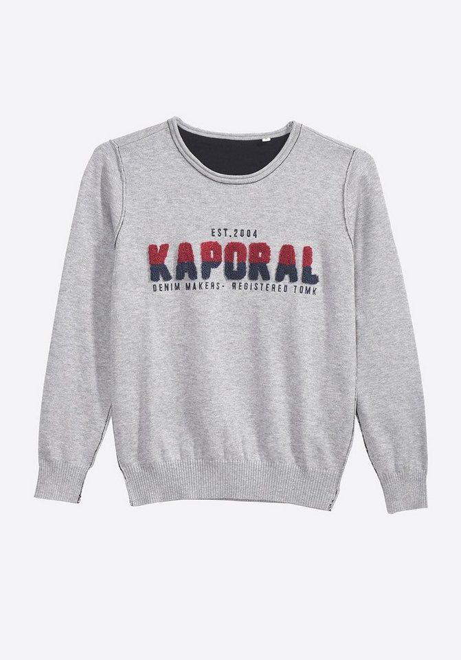 newest 976dd 45423 Kaporal Pullover mit modischem Marken-Schriftzug   OTTO