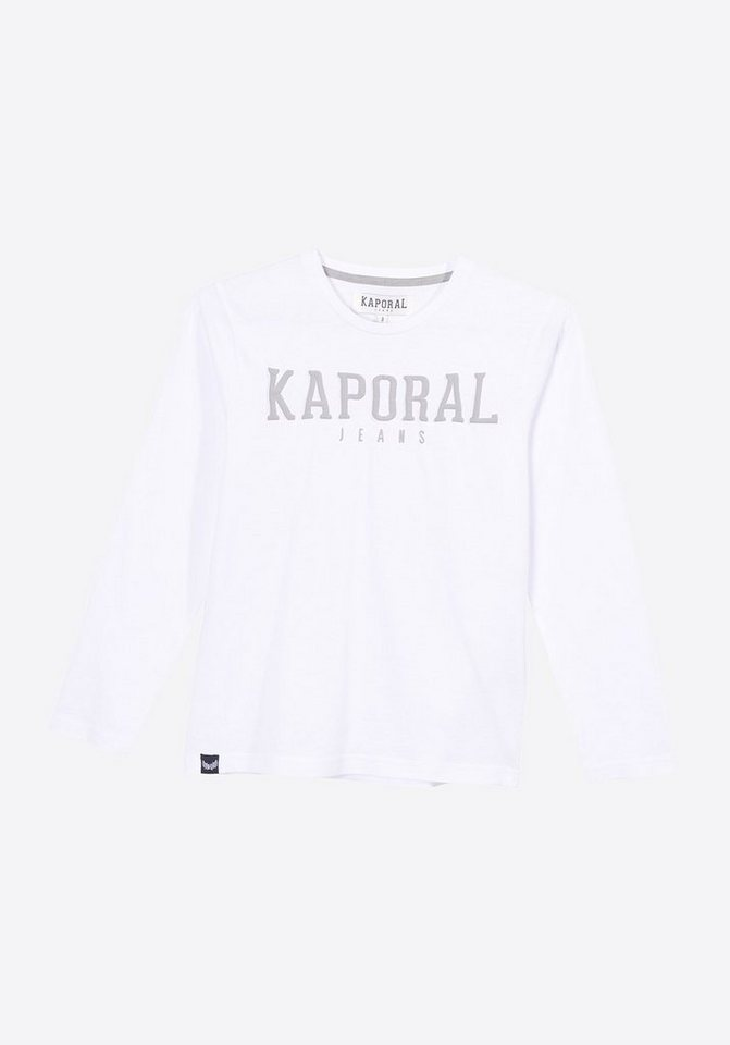 8e85b1119613ee Kaporal Langarmshirt mit Markenschriftzug auf der Front online ...
