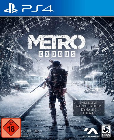 Metro Exodus Day One Edition PlayStation 4
