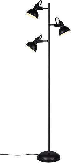 TRIO Leuchten Stehlampe »GINA«, in rostfarbiger Gestaltung