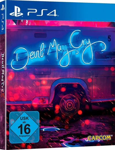 Devil May Cry 5 Deluxe Edition PlayStation 4