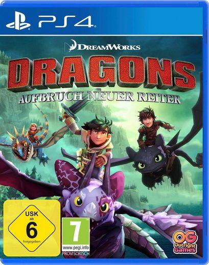 Dragons - Aufbruch neuer Reiter PlayStation 4, Software Pyramide
