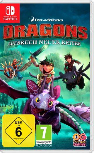 Dragons - Aufbruch neuer Reiter Nintendo Switch, Software Pyramide