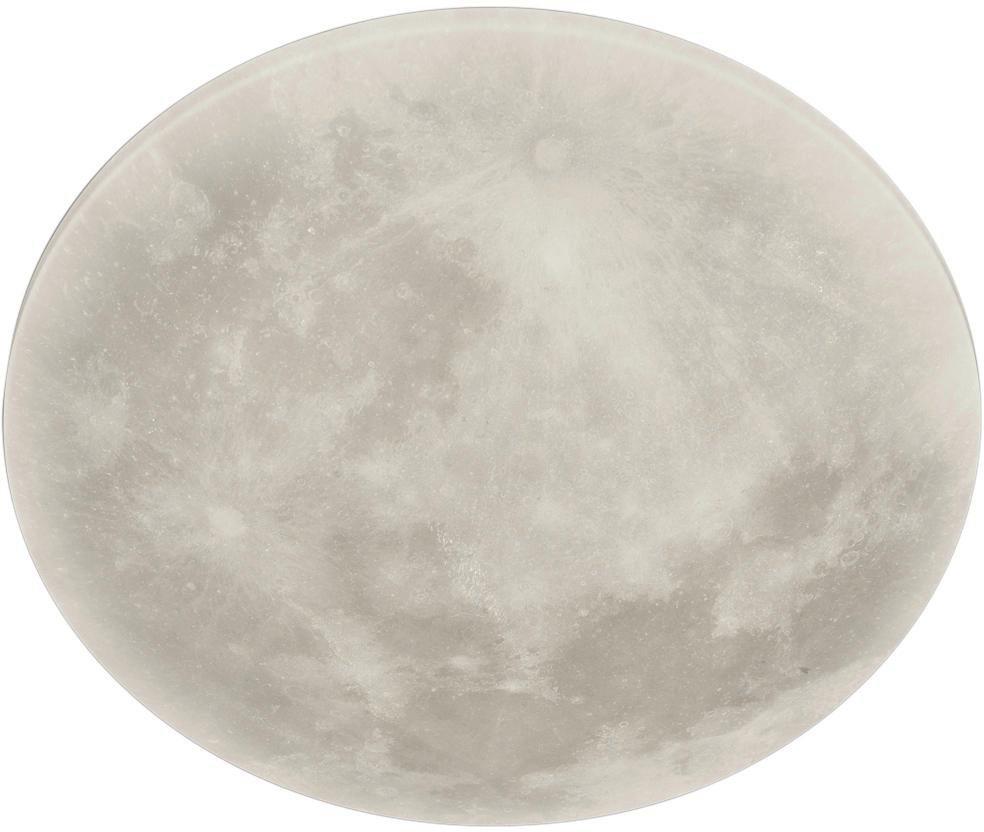 Trio Leuchten Led Deckenleuchte Lunar 1 Flammig Nachtlicht Weiß
