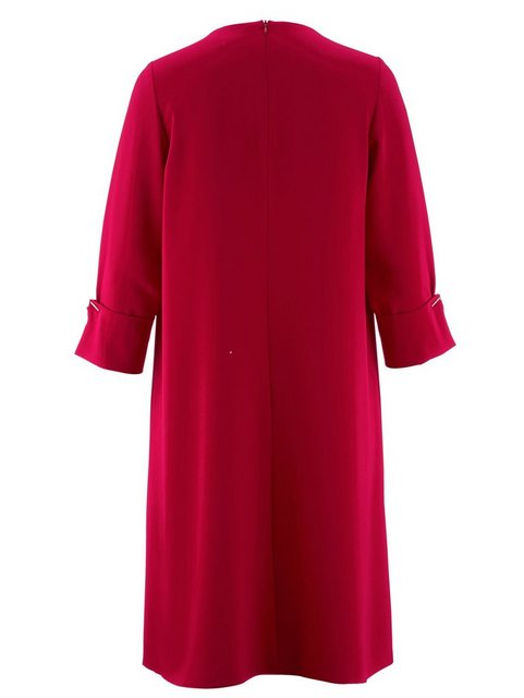 Alba Moda Kleid mit aufwendiger Manschetten-Lösung