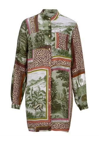 MONA Ilgi marškiniai su exklusivem Druckdes...