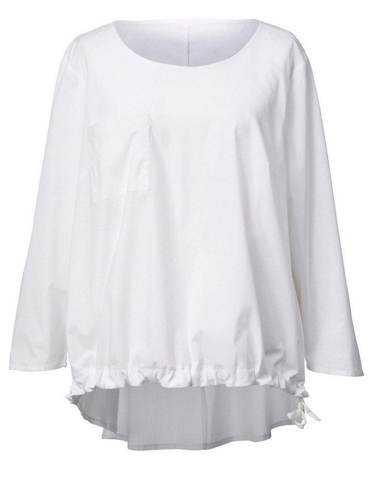 heiß-verkaufende Mode auf Füßen Bilder von Super Rabatt Sara Lindholm by Happy Size Vokuhila-Bluse kaufen | OTTO