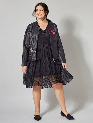 Sara Lindholm by Happy Size 2-in-1-Kleid mit Spitze online kaufen