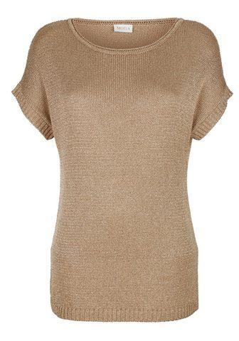 MONA Пуловер с Glanzgarn