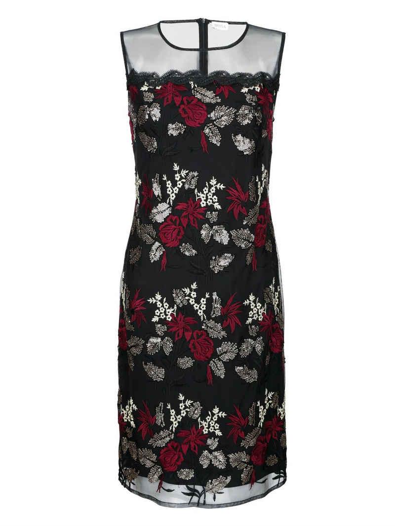 Mona Kleid mit Pailletten und Stickerei