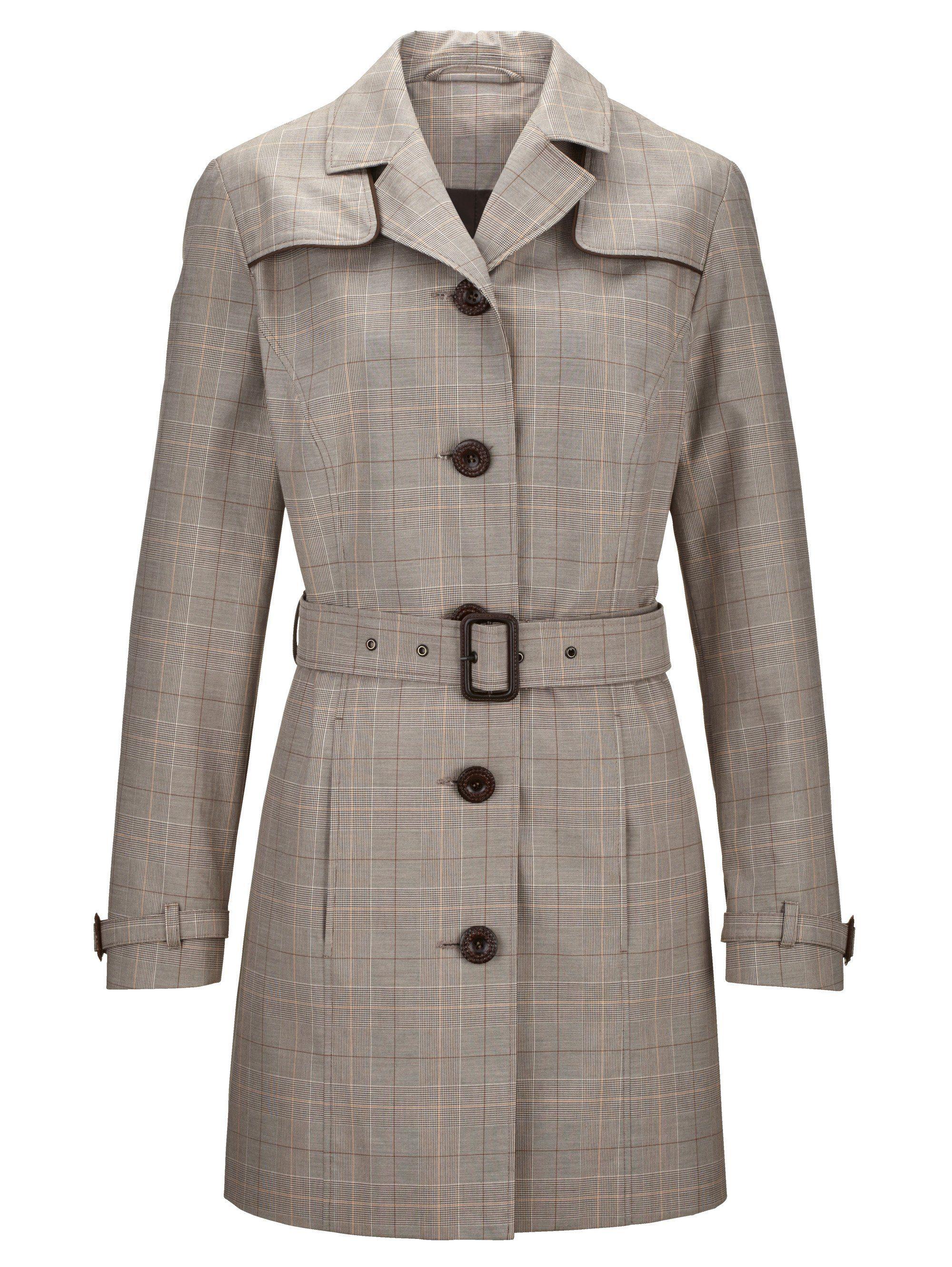 Reiner Online Kaufen Trenchcoat Aus Mona Baumwolle j4R3A5L