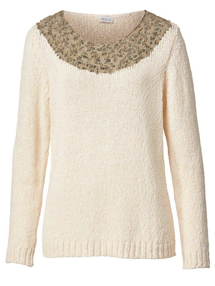 339c4214eddd8a Mona Pullover mit Effektgarn online kaufen | OTTO