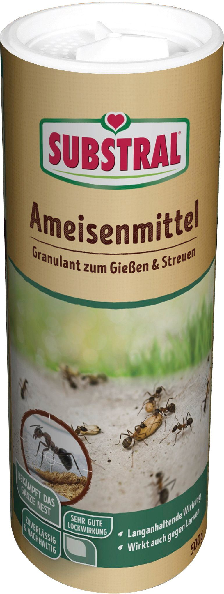SUBSTRAL Ameisenmittel 500 g