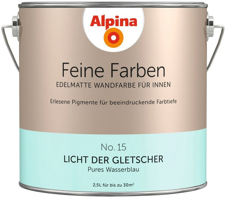 alpina farbe alpina feine farben licht der gletscher 2. Black Bedroom Furniture Sets. Home Design Ideas