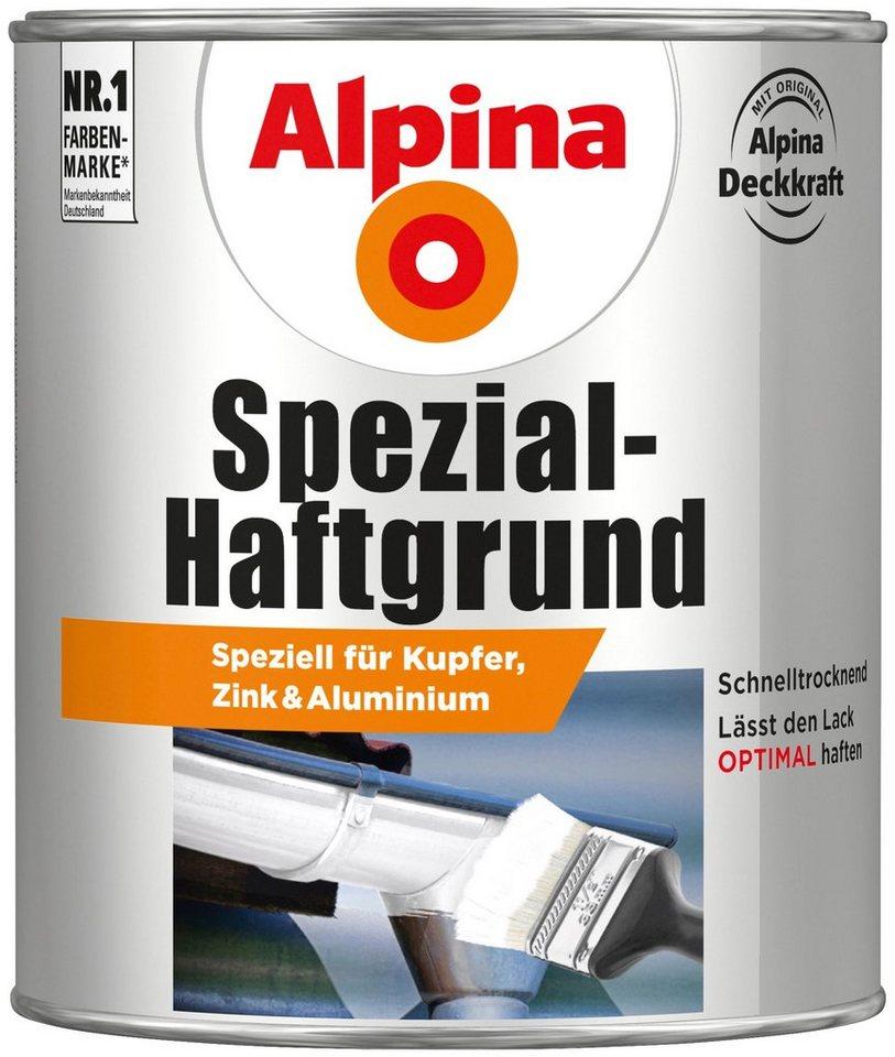 alpina spezial haftgrund spezial haftgrund wei 750 ml. Black Bedroom Furniture Sets. Home Design Ideas