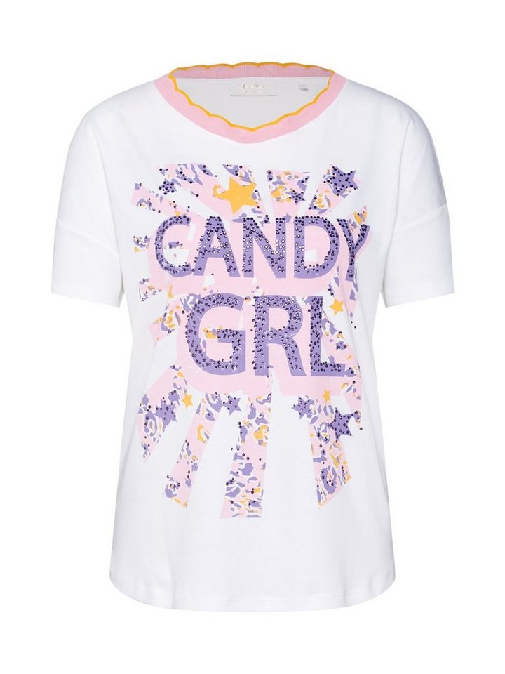 Rich & Royal Print-Shirt »Candy GRL« Ziersteine