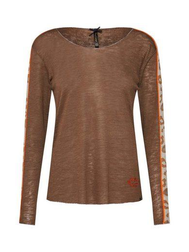 Key Largo Langarmshirt »ISA« Ziersteine