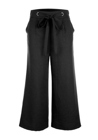 Юбка-брюки с украшением