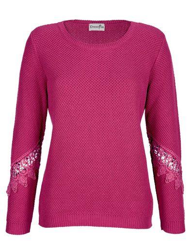 Dress In Pullover mit Spitze