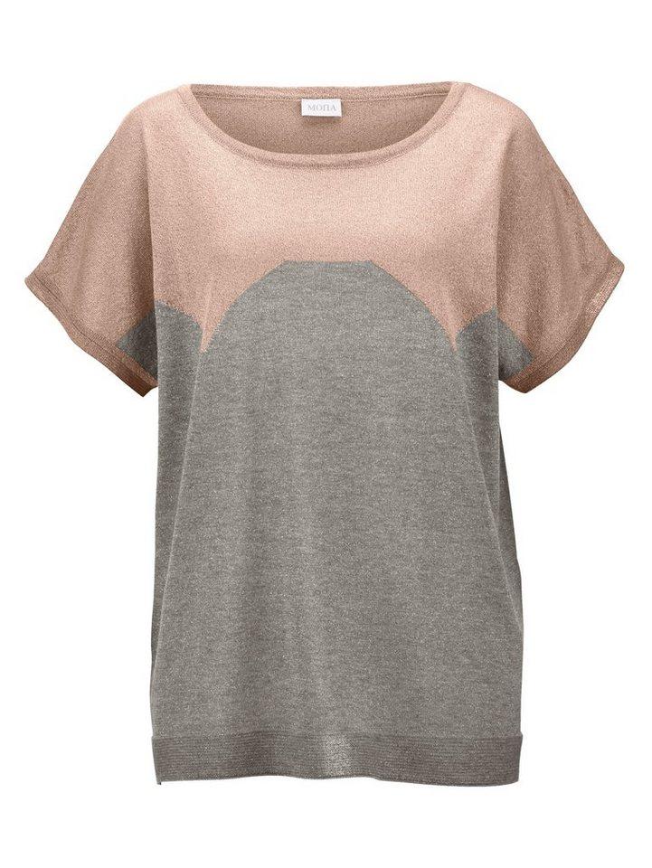 9cbca30dbd Mona Pullover mit Glanzgarn online kaufen   OTTO