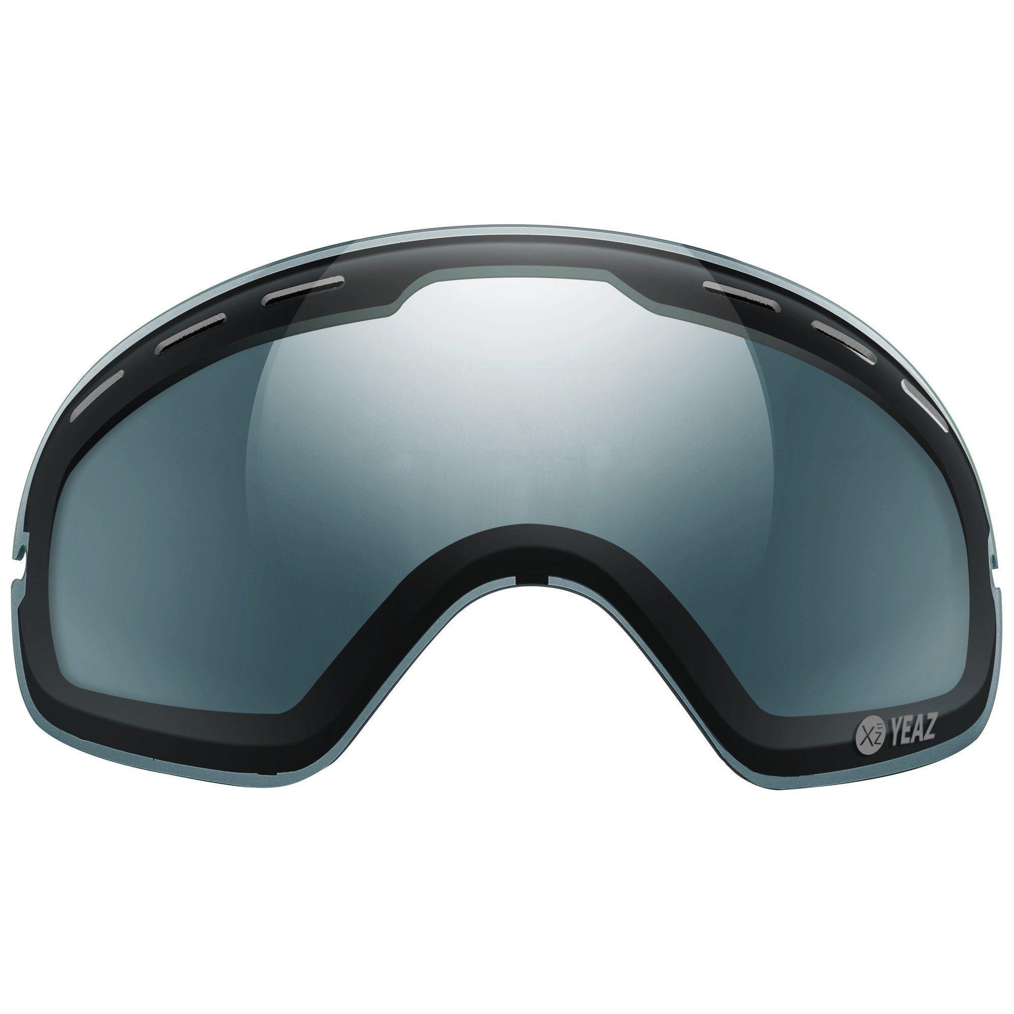 YEAZ Skibrille »XTRM-SUMMIT POLARIZE Polarisierte Linse für XTRM-SUMMIT Brillen mit Rahmen«
