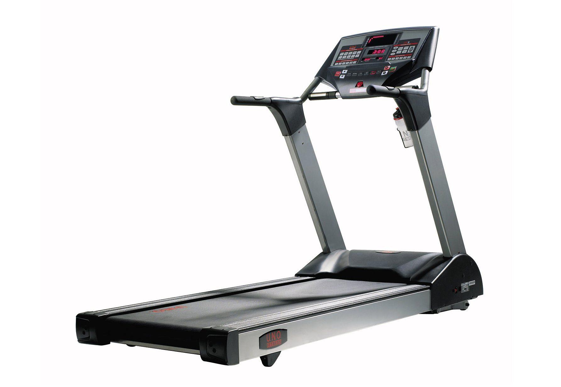 Laufband, U.N.O Fitness, »LTX5 Pro«, incl. Brustgurt