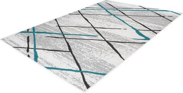 Teppich »Vancouver 110«| Kayoom| rechteckig| Höhe 10 mm | Heimtextilien > Teppiche > Sonstige-Teppiche | Blau | Kayoom