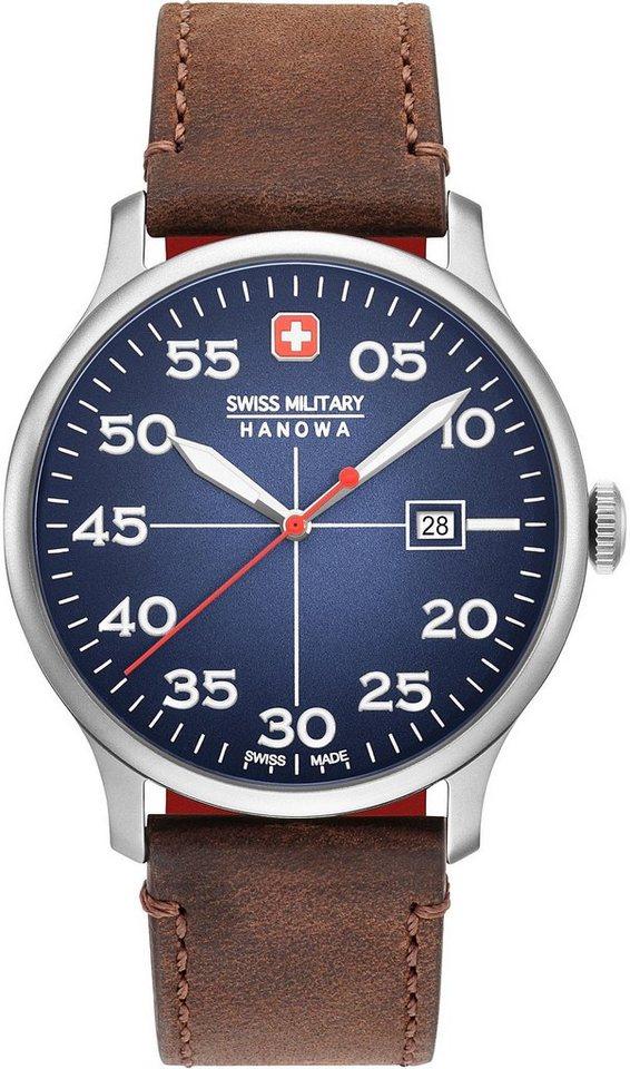 Swiss Military Hanowa Schweizer Uhr »ACTIVE DUTY, 06-4326.04.003« | Uhren > Schweizer Uhren | Braun | Swiss Military Hanowa
