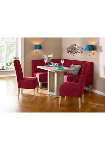 HOME AFFAIRE Kampinis virtuvės suolas su kėdėmis »H...