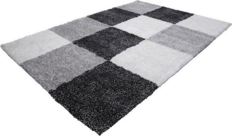 Hochflor-Teppich »Grace 803«, LALEE, rechteckig, Höhe 40 mm, Besonders weich durch Microfaser