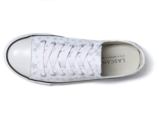 Lascana Sneaker Textil Sternenprint Aus Mit rrn6vOd