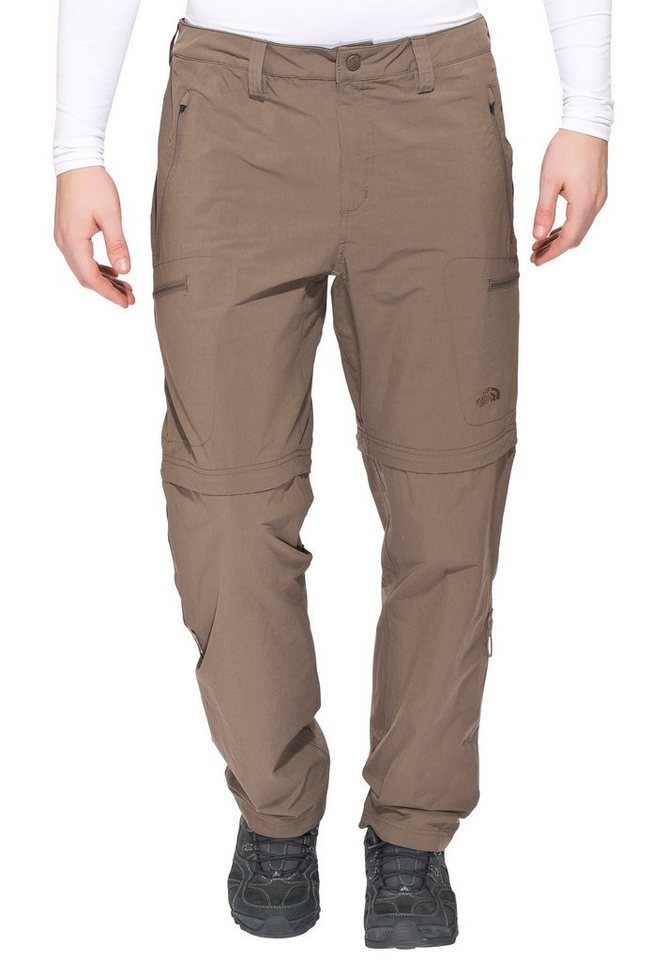The North Face Outdoorhose »Exploration Convertible Pants Men Regular« | Bekleidung > Hosen > Outdoorhosen | Braun | Nylon - Elasthan | The North Face