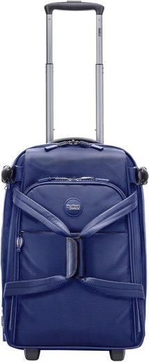 Stratic Reisetasche »MaxRelax by Stratic, Go Rollenreisetasche S, blue/white«, mit 2 Rollen