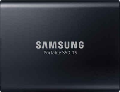 Samsung »Portable SSD T5« externe SSD (1 TB) 540 MB/S Lesegeschwindigkeit, 540 MB/S Schreibgeschwindigkeit, USB 3.1)