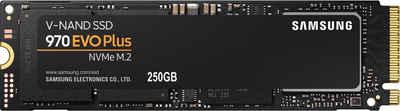 Samsung »970 EVO Plus NVMe M.2 SSD« SSD (250 GB) 3500 MB/S Lesegeschwindigkeit, 3300 MB/S Schreibgeschwindigkeit)