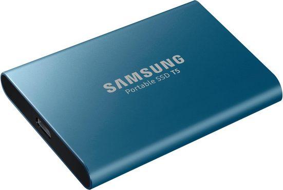 Samsung »Portable SSD T5« externe SSD (500 GB) 540 MB/S Lesegeschwindigkeit, 540 MB/S Schreibgeschwindigkeit)
