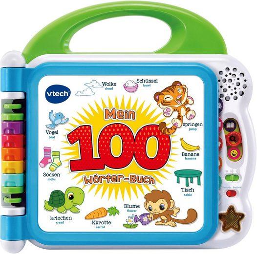 Vtech® Buch »Mein 100-Wörter-Buch, weiß«, mit Sound und Licht