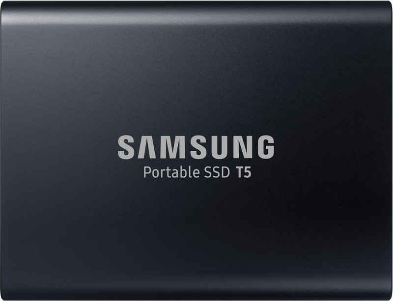 Samsung »Portable SSD T5« externe SSD (2 TB) 540 MB/S Lesegeschwindigkeit, 540 MB/S Schreibgeschwindigkeit, USB 3.1)