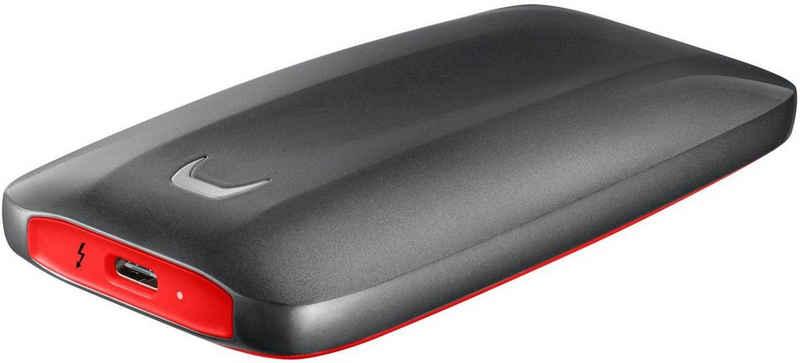 Samsung »Portable SSD X5« SSD (500 GB) 2800 MB/S Lesegeschwindigkeit, 2100 MB/S Schreibgeschwindigkeit)