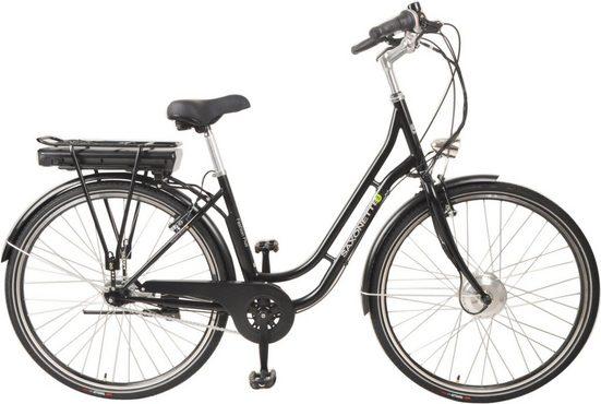 SAXONETTE E-Bike »Fashion Plus«, 7 Gang Shimano Nexus Schaltwerk, Nabenschaltung, Frontmotor 250 W