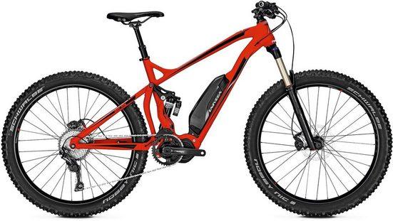 Univega E-Bike »Renegade S 4.5«, 11 Gang Shimano SLX Schaltwerk, Kettenschaltung, Mittelmotor 250 W