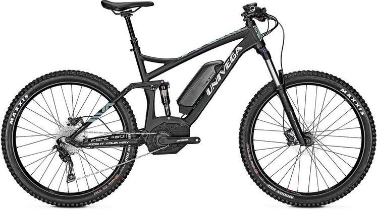 Univega E-Bike »Renegade B 2.0«, Shimano Deore Schaltwerk, Kettenschaltung, Mittelmotor 250 W