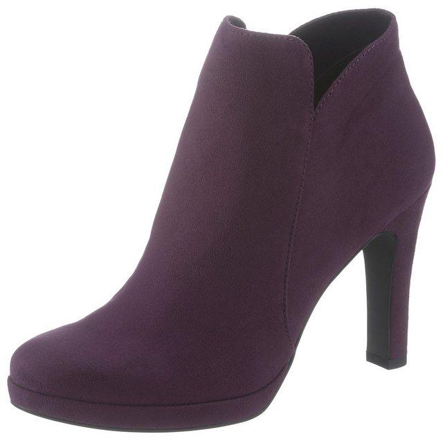 Tamaris High-Heel-Stiefelette im femininen Look | Schuhe > High Heels > High Heel Stiefeletten | tamaris