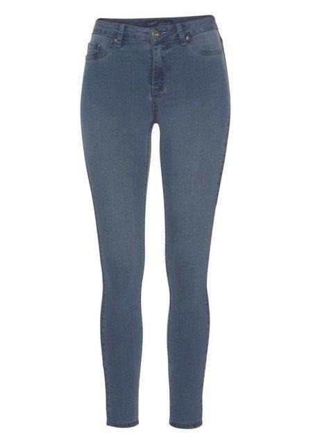 Hosen - Arizona Skinny fit Jeans »Ultra Stretch« High Waist › blau  - Onlineshop OTTO