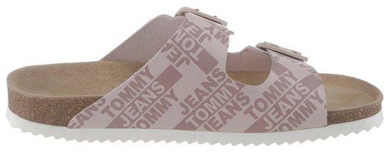 Mit Jeans Label Pantolette »joan 2a« Tommy Bedruckten AnPIW