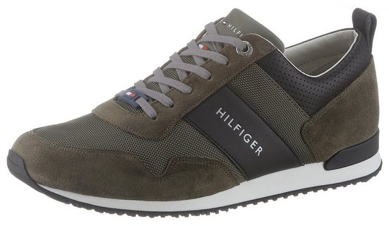 TOMMY HILFIGER »Maxwell 11C« Sneaker im angesagten Materialmix