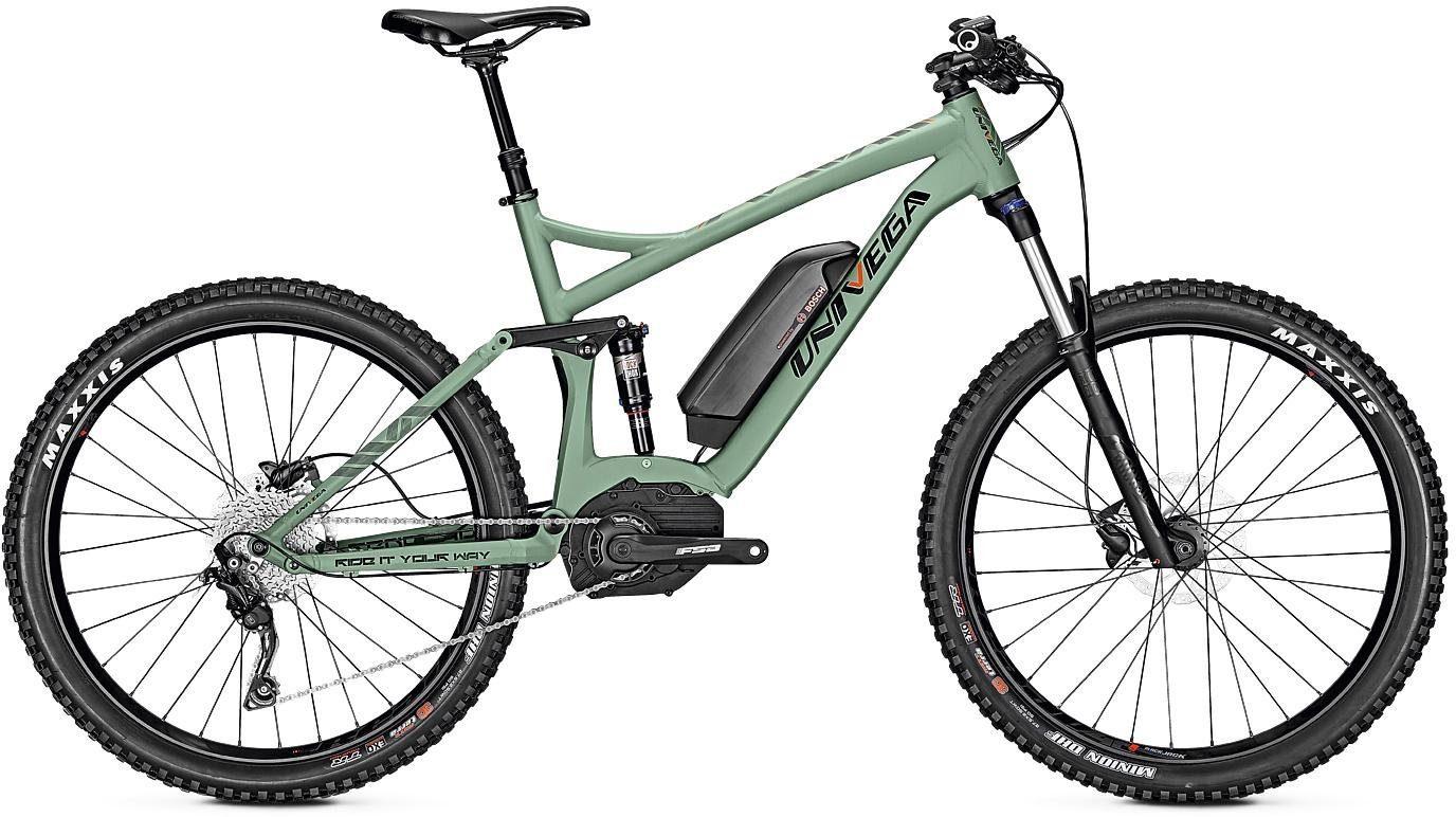 Univega E-Bike »Renegade B Edition«, 10 Gang Shimano Deore Schaltwerk, Kettenschaltung, Mittelmotor 250 W